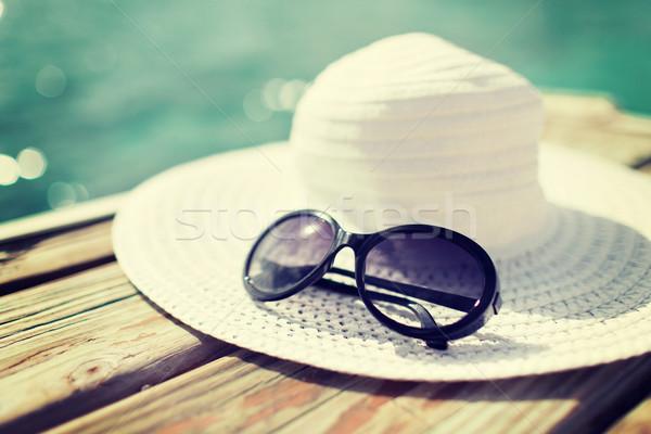 Praia beira-mar verão férias Foto stock © dolgachov