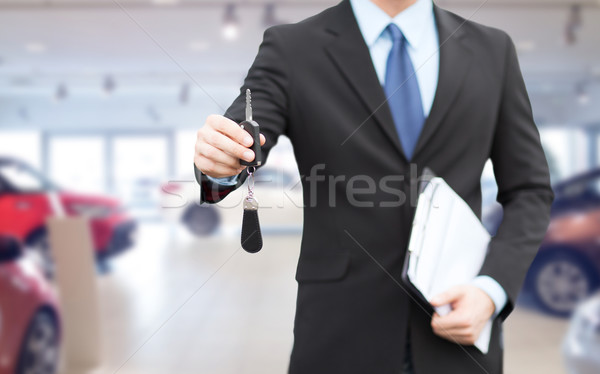 Photo stock: Affaires · vendeur · Auto · affaires