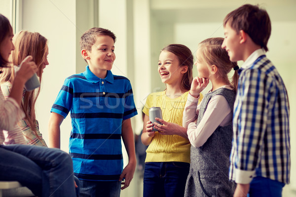 группа школы дети соды коридор образование Сток-фото © dolgachov