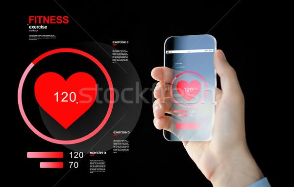 стороны смартфон импульс технологий Сток-фото © dolgachov
