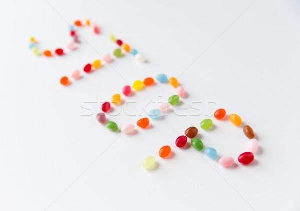 Stok fotoğraf: Tablo · gıda · şekerleme