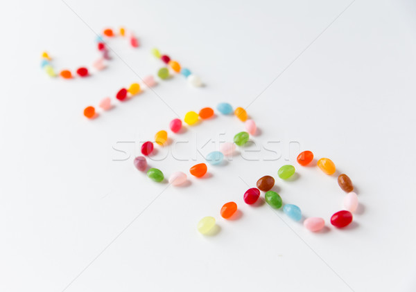 Tavola alimentare dolci Foto d'archivio © dolgachov
