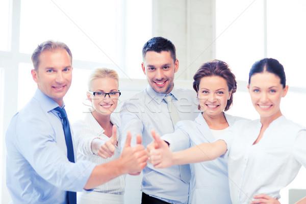 Business-Team Büro Bild glücklich Stock foto © dolgachov