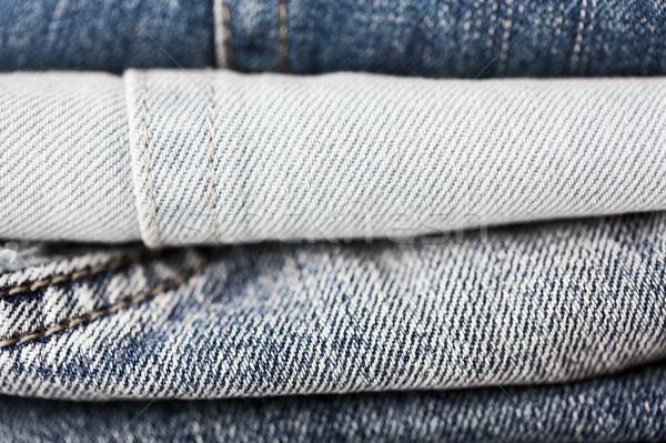 Brim roupa jeans desgaste Foto stock © dolgachov