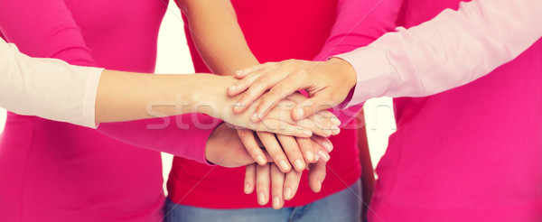 женщины розовый рук Top Сток-фото © dolgachov