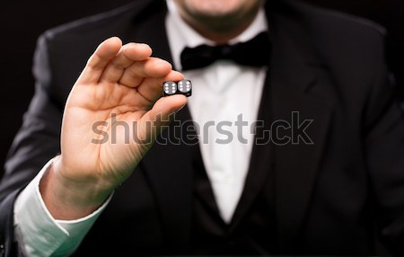 close up of addict preparing crack cocaine drug Stock photo © dolgachov