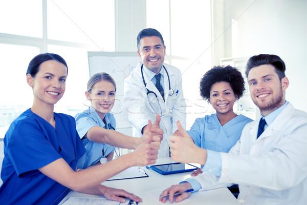 группа врачи больницу Сток-фото © dolgachov
