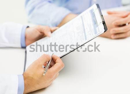 businesswoman showing blank card Stock photo © dolgachov