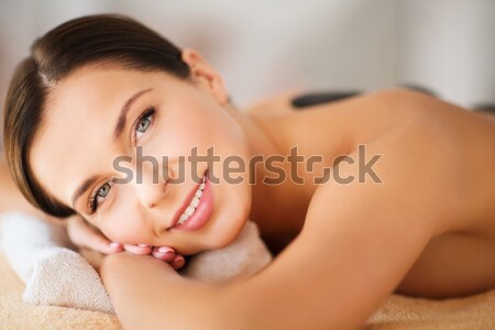 woman sleeping on the couch at home Stock photo © dolgachov