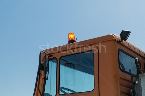 Estrada serviço carro cabine transporte Foto stock © dolgachov
