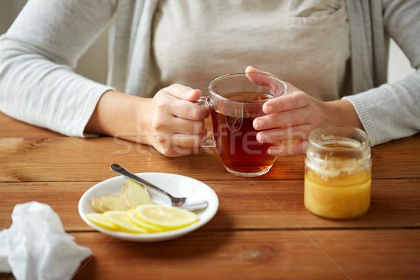 Сток-фото: женщину · лимона · здоровья · традиционный