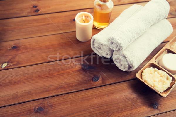 Stok fotoğraf: Doğal · kozmetik · banyo