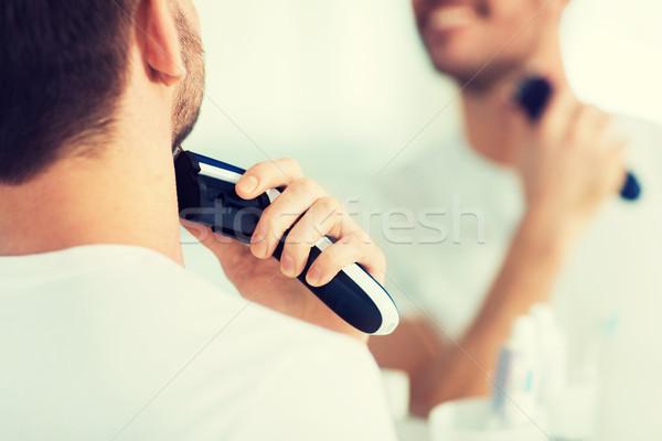 Człowiek broda piękna ludzi Zdjęcia stock © dolgachov