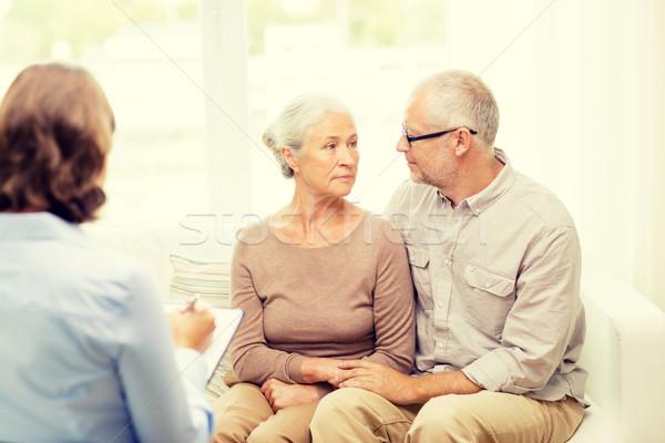 домой семьи отношения возраст Сток-фото © dolgachov