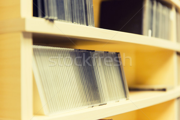 Cd records radio station technologie Stockfoto © dolgachov