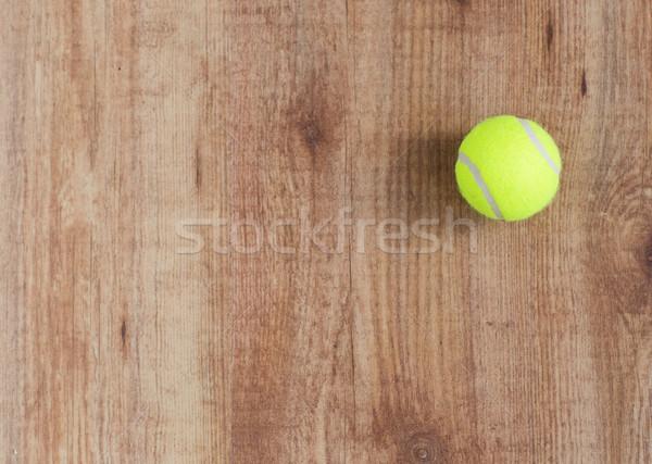 Tennisbal sport fitness spel sportartikelen Stockfoto © dolgachov
