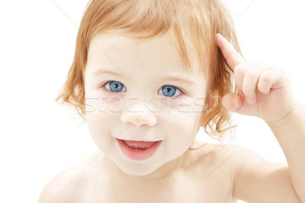 baby boy Stock photo © dolgachov