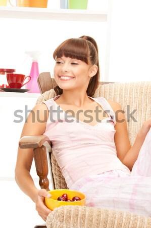 домохозяйка смеситель ярко фотография красивой белый Сток-фото © dolgachov
