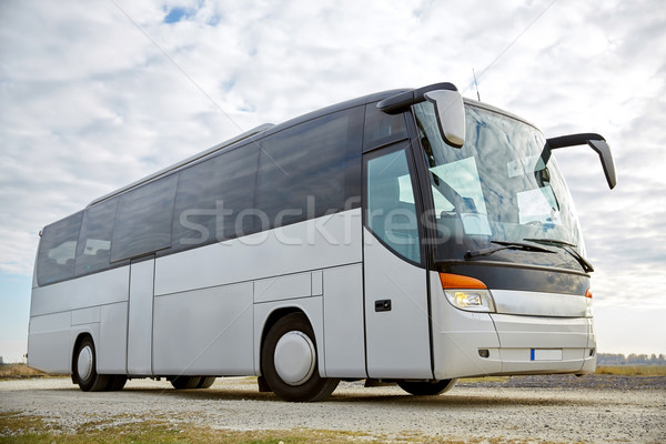 tour bus driving outdoors Stock photo © dolgachov