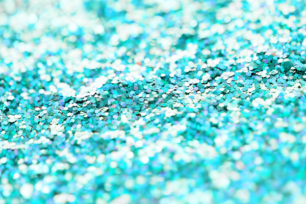 blue glitter or sequins background Stock photo © dolgachov