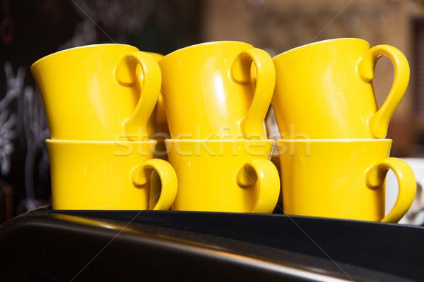 カップ 加熱 ドリンク ストックフォト © dolgachov