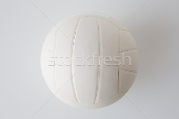 close up of volleyball ball on white Stock photo © dolgachov