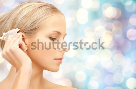 красивой лице праздников фары здоровья Сток-фото © dolgachov
