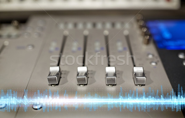 Música consolar sonido tecnología electrónica Foto stock © dolgachov