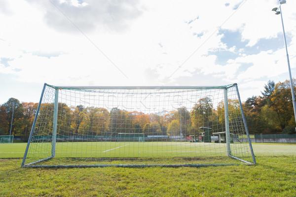 football goal on field Stock photo © dolgachov