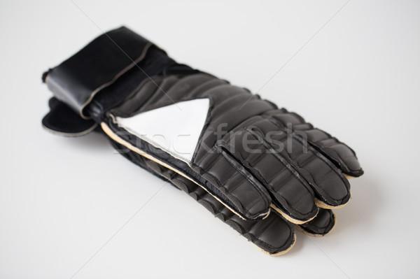 Fútbol fútbol portero guantes deporte Foto stock © dolgachov
