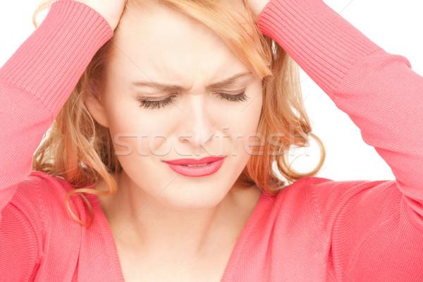 unhappy woman Stock photo © dolgachov
