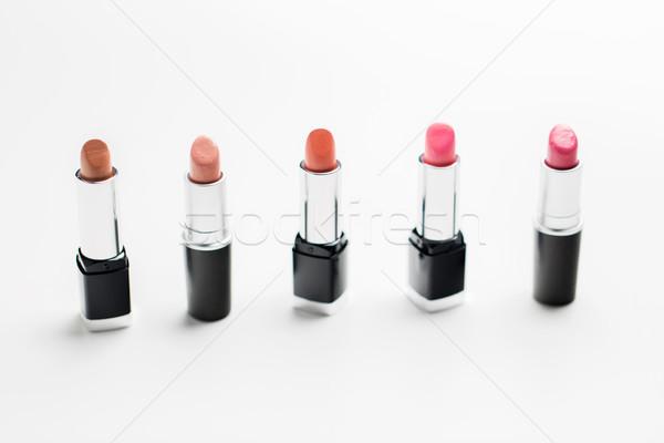 Közelkép terjedelem kozmetika smink szépség divat Stock fotó © dolgachov