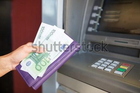 Strony ceny atm maszyny finansów Zdjęcia stock © dolgachov