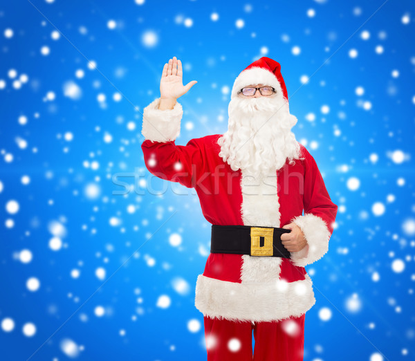 Stock photo: man in costume of santa claus