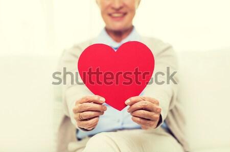 幸せ ゲイ 男性 カップル 赤 ストックフォト © dolgachov