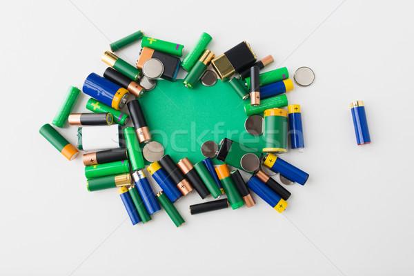 緑 リサイクル エネルギー 電源 ストックフォト © dolgachov