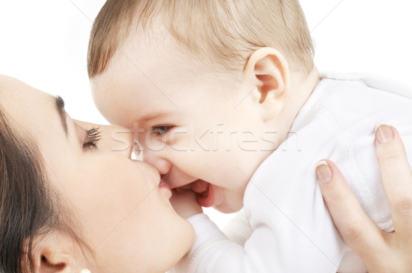 Сток-фото: счастливым · матери · целоваться · ребенка · мальчика · фотография