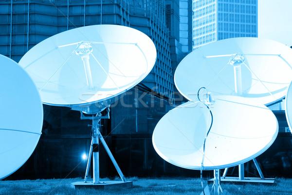 青 画像 スペース 技術 ビジネス ストックフォト © dolgachov