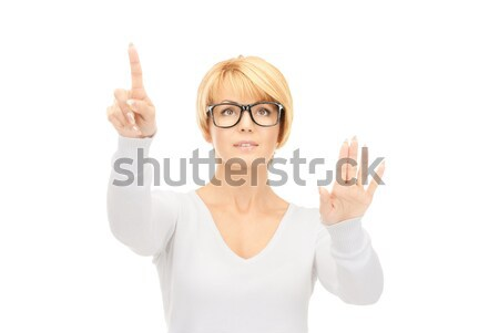 女性実業家 作業 虚数 画像 ビジネス ストックフォト © dolgachov