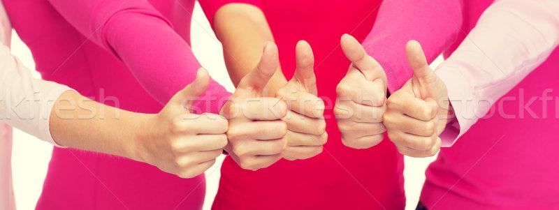 Mulheres rosa Foto stock © dolgachov