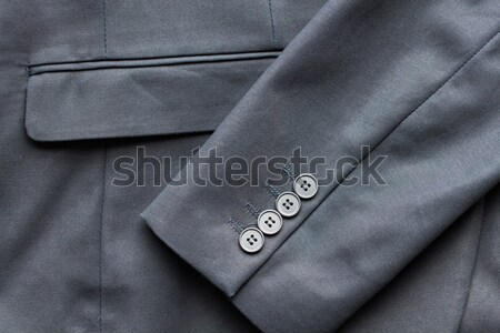 close up of business suit jacket Stock photo © dolgachov