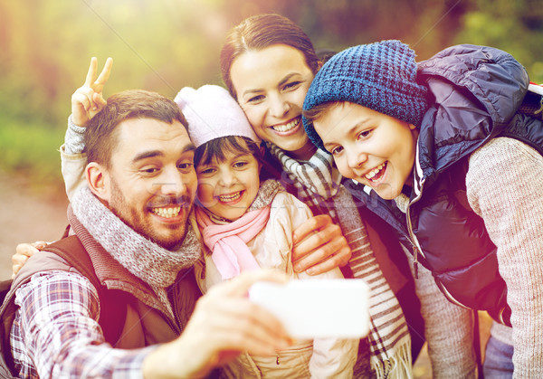 Família mata viajar turismo Foto stock © dolgachov