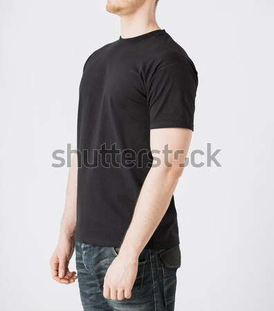 Stockfoto: Man · tshirt · model · student · mannen