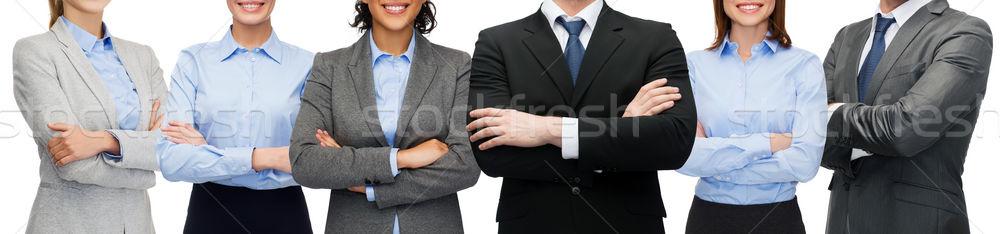 Vriendelijk internationale bedrijfsleven team groep business kantoor Stockfoto © dolgachov