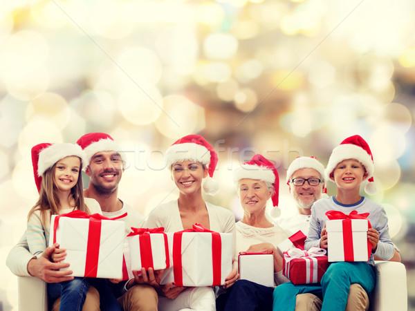 счастливая семья помощник семьи Сток-фото © dolgachov