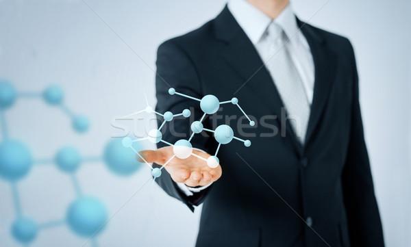 Man tonen formule mensen business Stockfoto © dolgachov