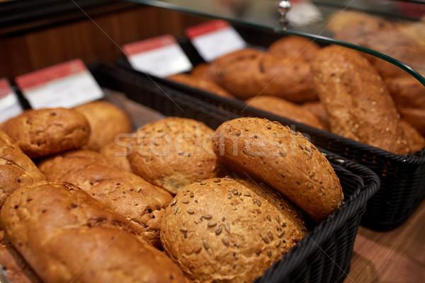 Pane panetteria alimentare cottura Foto d'archivio © dolgachov
