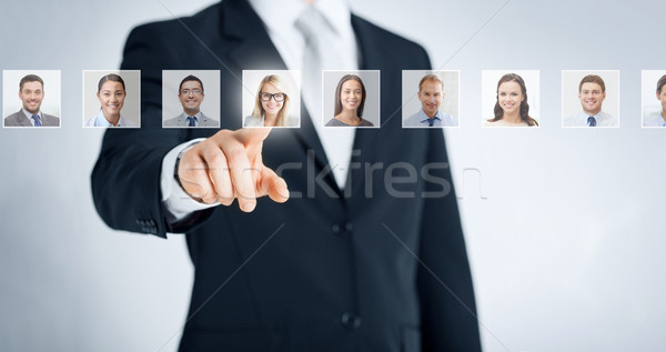 human resources, career and recruitment concept Stock photo © dolgachov