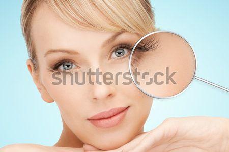Top-less dama negro plástico retrato Foto stock © dolgachov