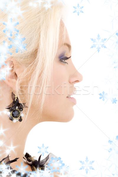 black jewelry Stock photo © dolgachov